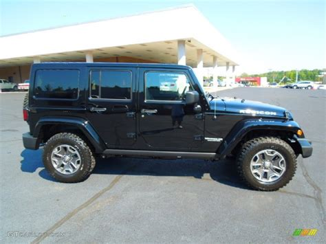 Jeep Wrangler Black 2013 Black 2013 Jeep Wrangler Unlimited Rubicon 4x4 Exterior