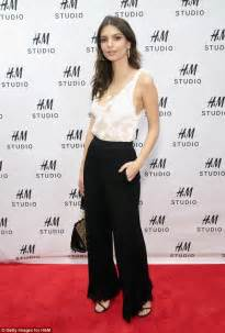Blouse Emily New emily ratajkowski rocks low cut sheer white blouse daily