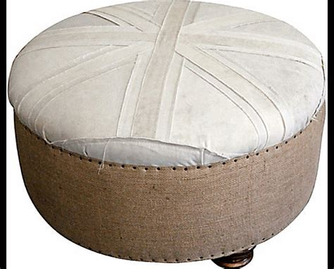 union jack ottoman canvas union jack ottoman eclectic footstools