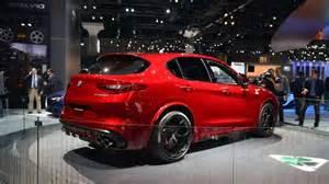 Quadrifoglio Alfa Romeo Alfa Romeo Stelvio Quadrifoglio Al Salone Di Los Angeles