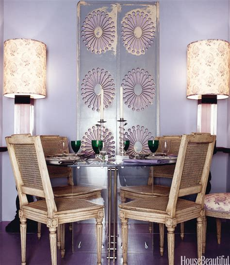 lavender painted walls purple dining room eclectic dining room benjamin