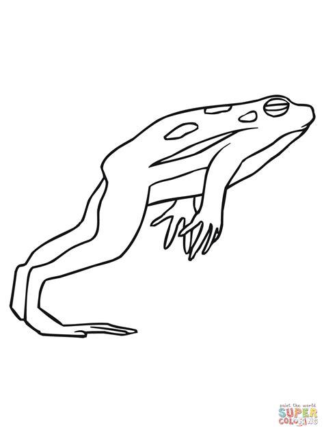 coloriage grenouille qui saute coloriages 224 imprimer