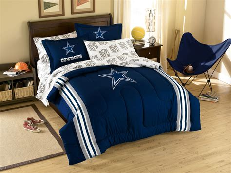 Cowboys Bed Set Dallas Cowboys Bedding Set 5pc Nfl Football Bed