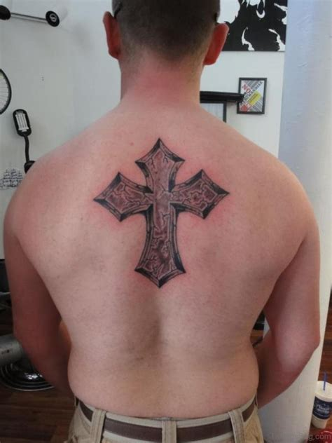 elegant tattoos 97 stunning cross tattoos for back