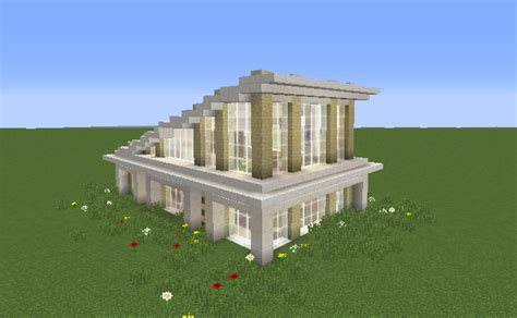 glass modern house grabcraft  number  source