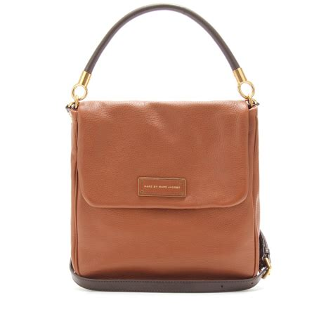 Marc By Marc Captain Shoulder Bag Purses Designer Handbags And Reviews At The Purse Page by Marc By Marc Laetitia Leather Shoulder Bag In Brown