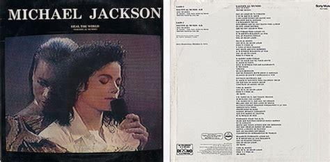 testo heal the world di michael jackson michael jackson heal the world salven al mundo messico 1991