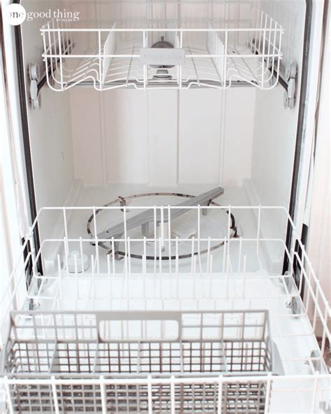 how to clean your dishwasher in 3 easy steps one good thing by jillee