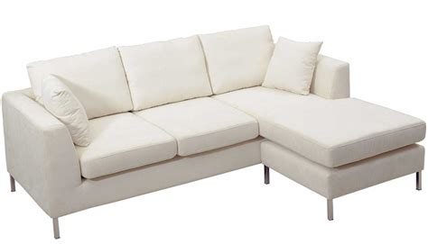 White Fabric Sectional Sofa With Chaise White Leather Sectional Home Design Ideas And
