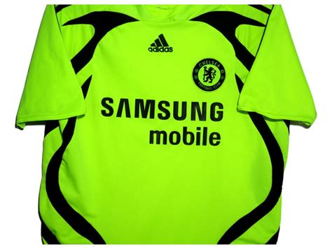 Chelsea Away 2007 2007 08 chelsea away shirt m the kitman football shirts