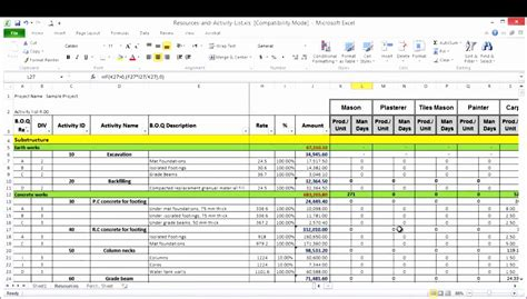 resource capacity planning excel template exceltemplates exceltemplates