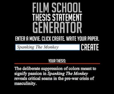 School Thesis Generator by School Thesis Statement Generator 28 Images Today S