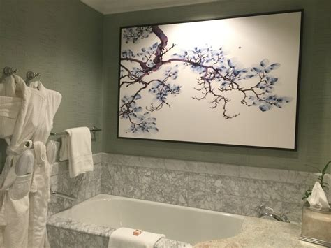 mandarin oriental bathroom a delightful stay at the mandarin oriental washington d c
