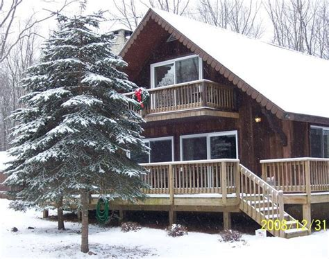 rentals in the poconos towamensing trails rustic chalet