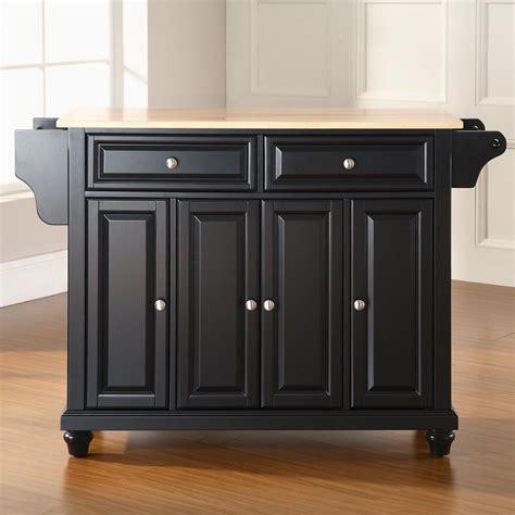 shop crosley furniture black craftsman kitchen island at lowes com shop crosley furniture black craftsman kitchen island at