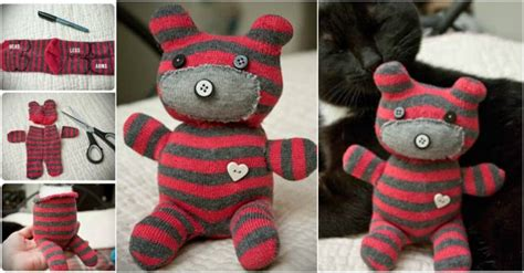 sock teddy craft how to make a sock teddy how to