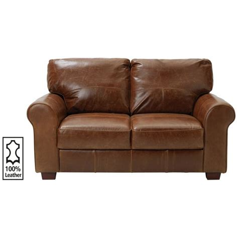 argos leather sofa buy heart of house salisbury 2 seater leather sofa tan