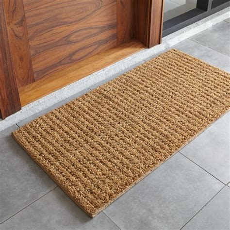 Doormat Reviews by Coir Doormat Reviews Crate And Barrel