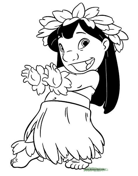 lilo and stitch christmas coloring pages lilo and stitch printable coloring pages 2 disney