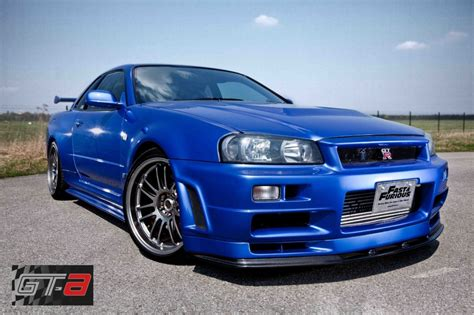 nissan fast car paul walker s r34 nissan skyline gt r for sale at