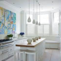 small white kitchen design ideas small island