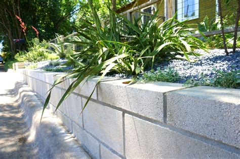 Design For Diy Retaining Wall Ideas A Diy Cinder Block Retaining Wall Project