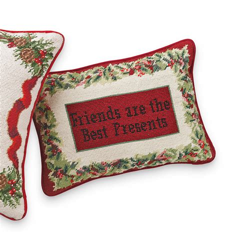 The Pillow Friend friends are the best presents pillow gump s