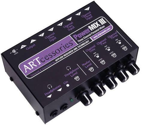 Mixer Audio Mini pro audio 3 channel stereo mini mixer mcquade musical instruments