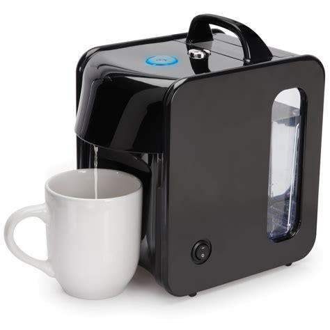 quick hot hot water dispenser the instant hot water dispenser hammacher schlemmer