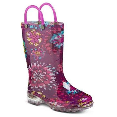 girls light up rain boots rain boots target