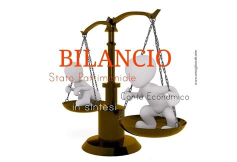 conto economico di una bilancio aziendale stato patrimoniale e conto economico