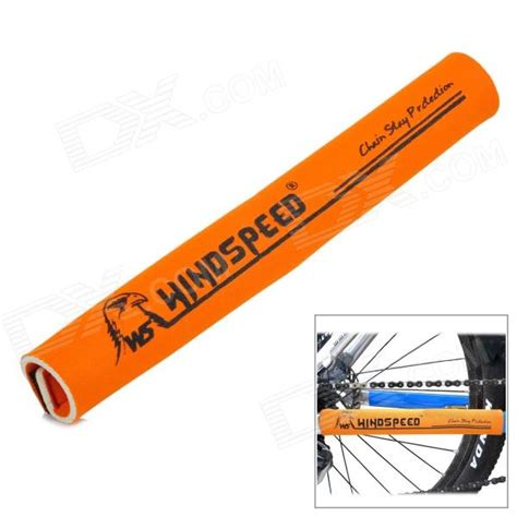 Chain Protector windspeed neoprene bicycle chain stay protector guard orange free shipping dealextreme