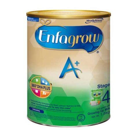 enfagrow a 4 madu formula enfagrow a growing up milk stage 4 1 8kg