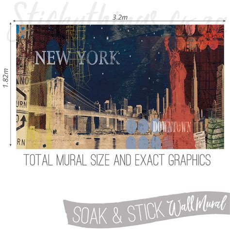 new york wall murals new york wall mural stickythings wall stickers south africa