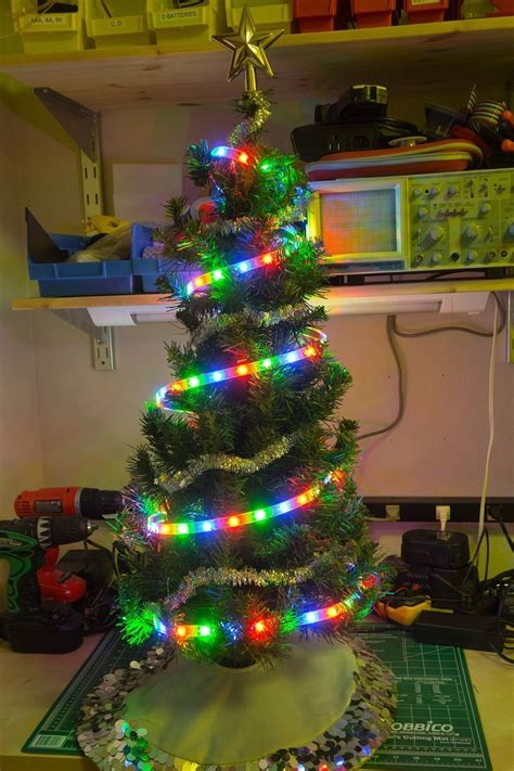 how to connect led lights on christmas tree how to connect and a raspberry pi ws2801 rgb led