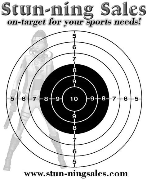 printable targets for zeroing in a gun targets
