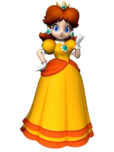Mario Characters Princess Daisy