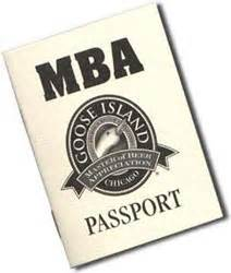 Goose Island Mba Card by Goose Island Brew Pub Chicago Bar Project Review