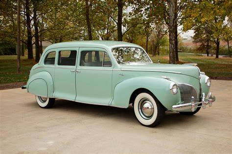 1941 lincoln custom 7 passenger sedan 115896