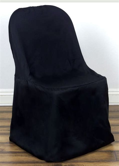 Paper Folding Chair Covers - folding chair cover black