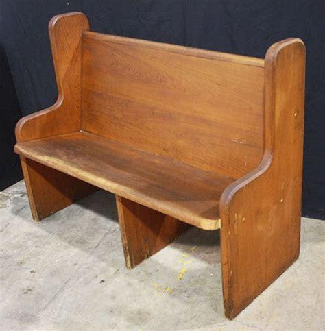 pew church bench antique solid cypress wood church pew pews bench