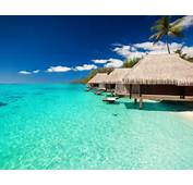 Wallpaper Sky Maldives Tropical Bungalows Summer Landscape