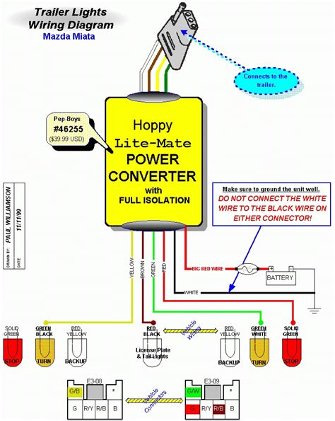 wiring diagram for led trailer lights wiring automotive