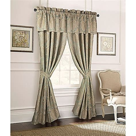 Rose Tree Norwich 84 Inch Window Curtain Panel Pair In
