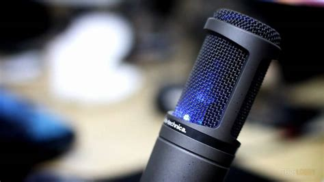 Audio Technica At2020 Usb audio technica at2020 usb condenser microphone review