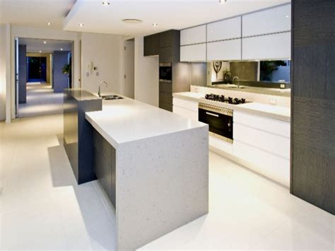 Modern Island Kitchen Modern Island Kitchen Design Using Granite Kitchen Photo 437285