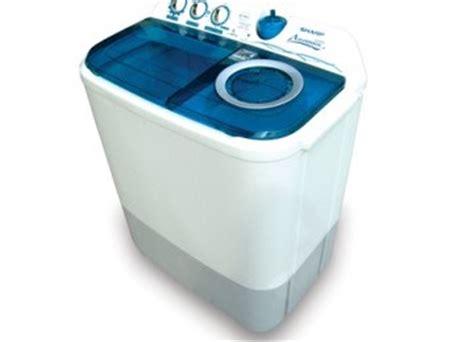 Mesin Cuci Sharp Aquamagic 9kg automagic mesin cuci dua tabung berpanel digital