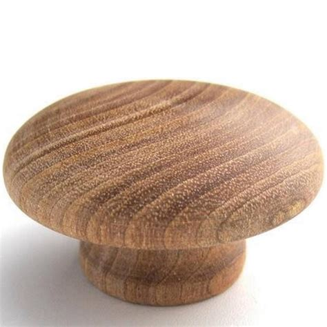 Unfinished Wooden Knobs by Large Brainerd 1 3 4 Quot Birch Unfinished Wood Knob Cabinet