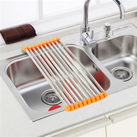 Kitchen Sink Drain Rack Buy Wholesale Steel Pipe Rack From China Steel Pipe Rack Wholesalers Aliexpress