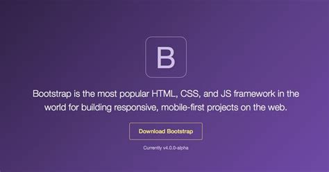bootstrap tutorial one page bootstrap 4 tutorial create a one page template end of
